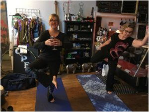 Hammock Wine and Yoga Event