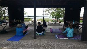 Hammock Yoga Ludington Retreat - Group Sitting