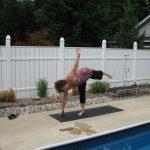 Hammock Poolside Yoga Event - Individual Posing