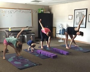 Family Yoga at Libaray 1