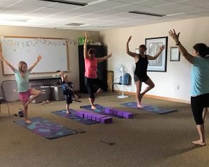 Family Yoga at Libaray 2